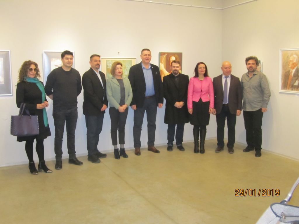 Откриване на изложба Румънско изкуство - Кълъраш - голяма снимка