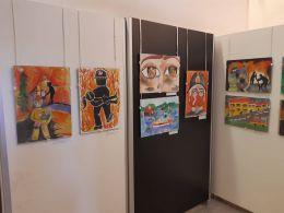 Награждаване на отличените участници в областния етап от Международен конкурс за детска рисунка С очите си видях бедата 2019 1