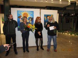 Съвместна изложба на Лили Рикардо  и Теодор Тончев 1