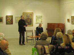 Литературна среща с поета Боян Ангелов - представяне на новата му поетична книга Помръкнала е реката 1