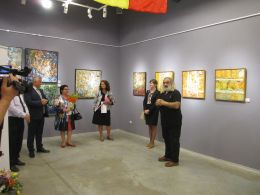 Съвместна изложба на Ecaterina Ajder и Iraida Ciobanu художници от Република Молдова 1