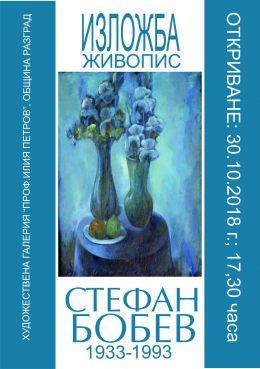 Откриване на изложба живопис Стефан Бобев 1933-1993 1