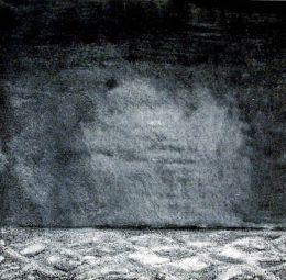 """Ноктюрно III - Инв. №170 Г;акватинта; 60х50; подпис долу дясно Т.  Владова; откупена от ОХИ """"Лудогорие '80""""; Таня(Стоянка) Николовa Владова -Родена на 09.02.1941 г. в София. Починала на 16.02.1990 г. /  NOCTURNE III - aquatint; 60x50; signed bottom ri - ХГ Проф. Илия Петров - Разград"""